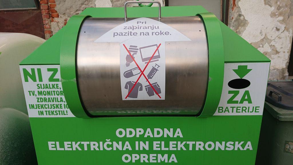 ULIČNI ZBIRALNIKI ZA E-ODPADKE tudi v Križevcih