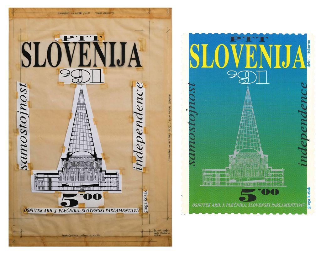 Bilo je pred 30. leti: Kako smo Slovenci dobili prvo osamosvojitveno znamko