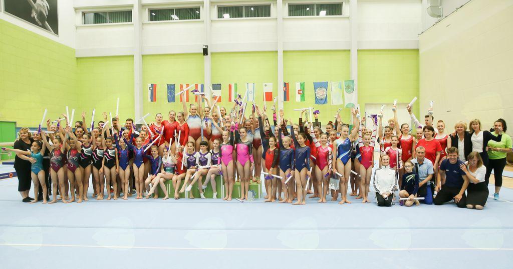 Vrhunska športna gimnastika v Ljubljani