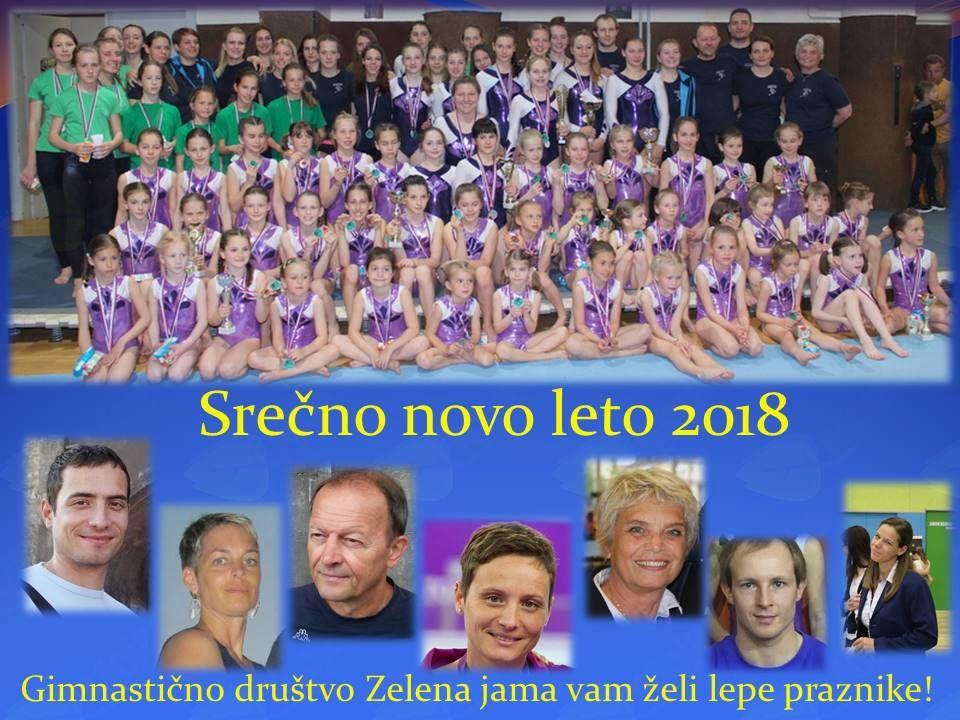 Športno v leto 2018 - GIMNASTIKA ZA VSE