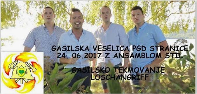 Gasilska veselica PGD Stranice - ANSAMBEL STIL
