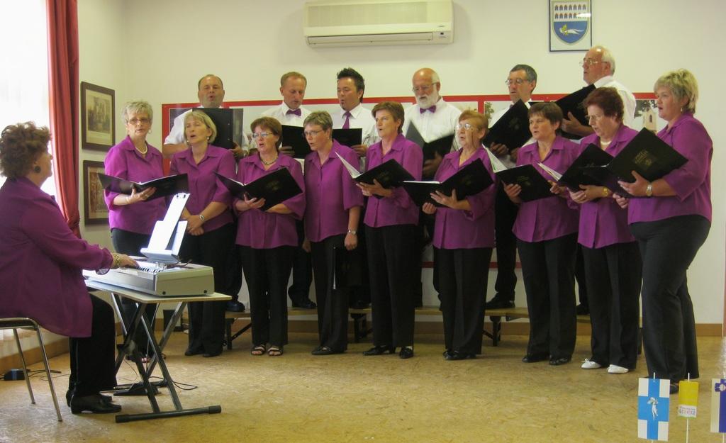 Koncert MPZ GLORIA v Gornjih Petrovcih