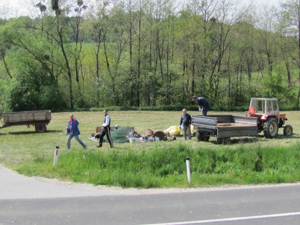 Čistilna akcija v Občini Gornji Petrovci