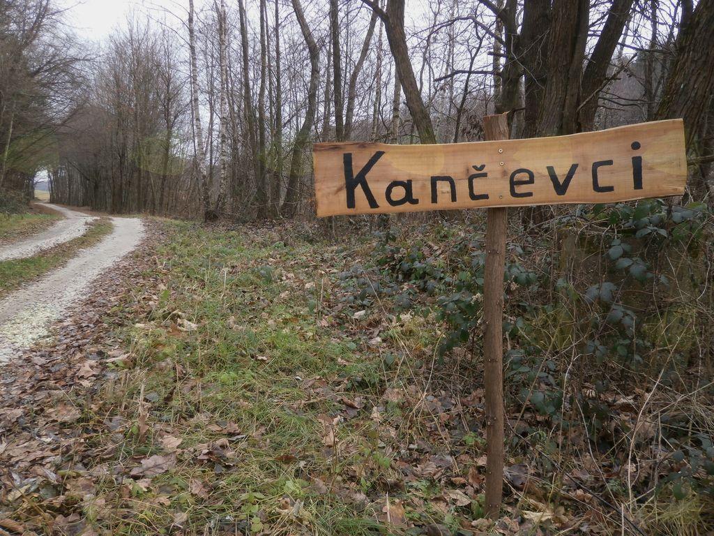 Prostovoljno izdelani tabli med Kančevci in Panovci