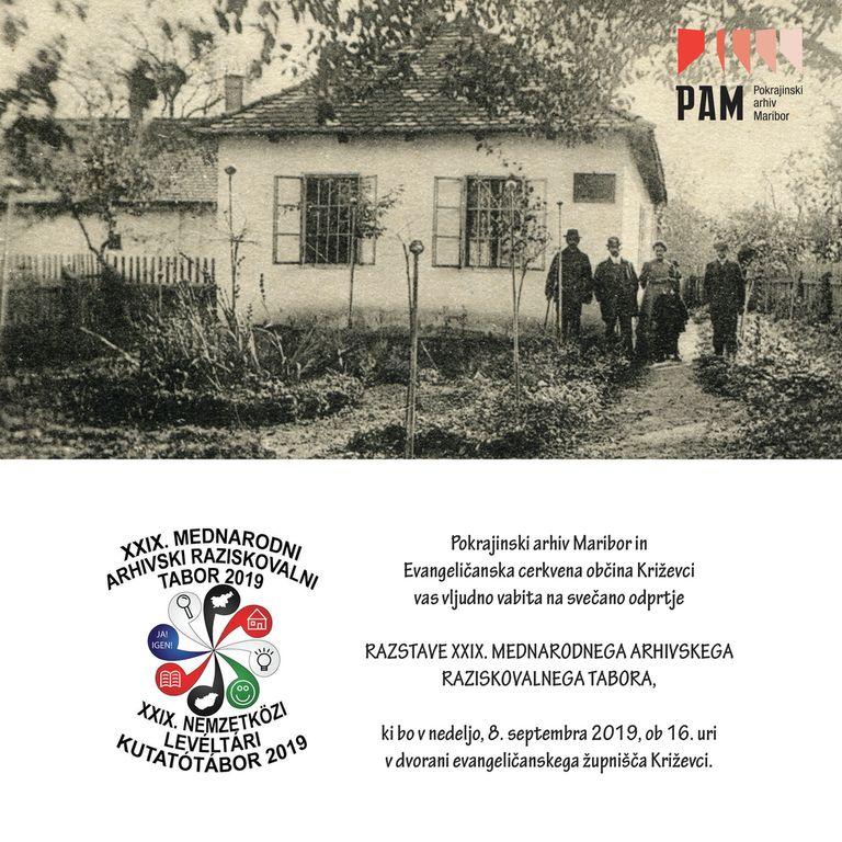 Razstava mednarodnega arhivskega tabota v Križevcih