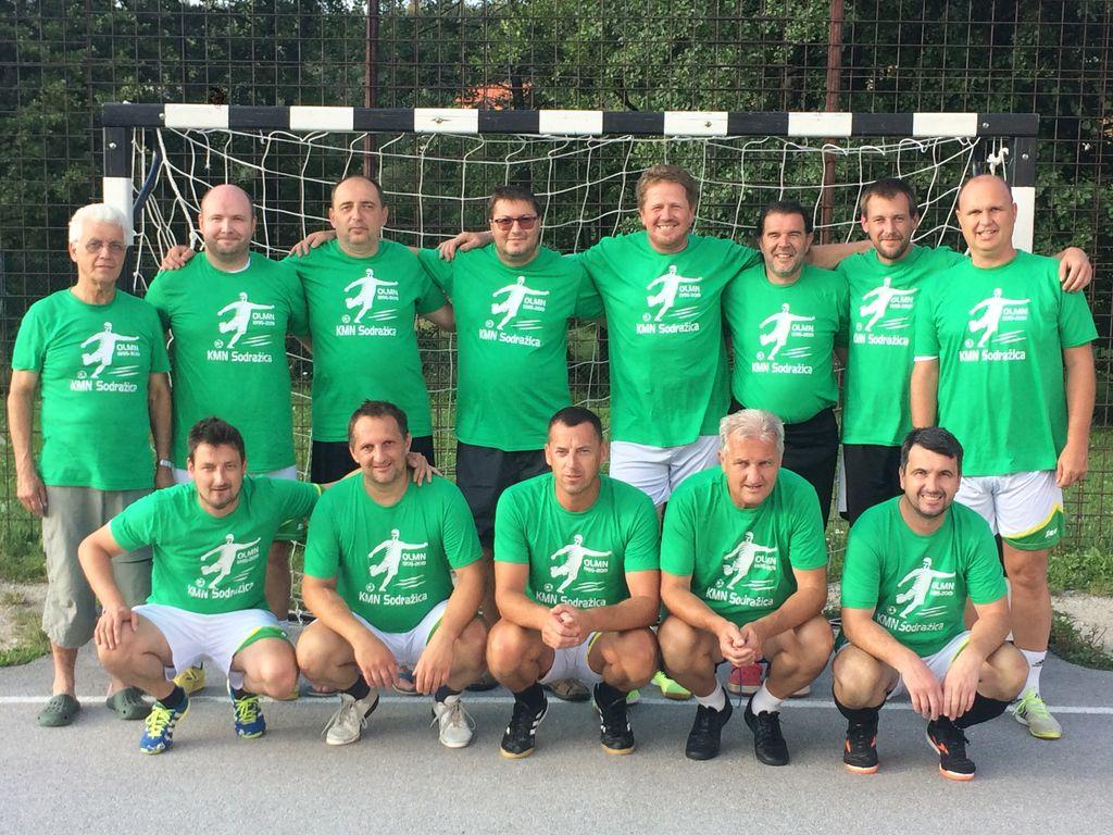 organizatorji in igralci KMN Sodražica (veterani)