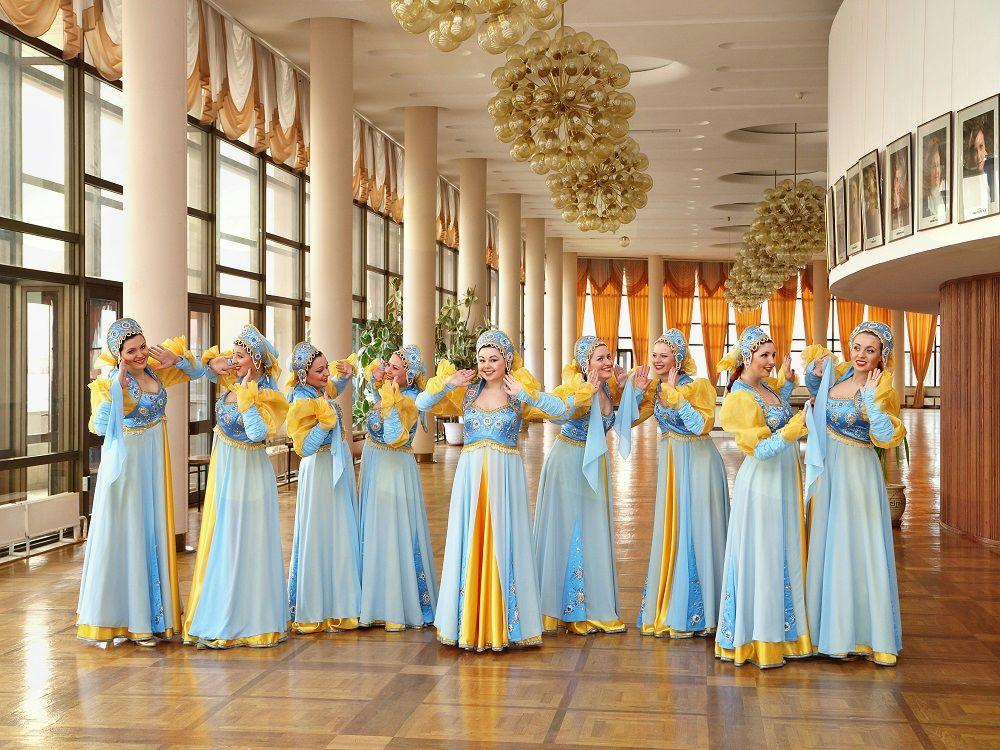 Voroneška dekleta Državni ansambel pesmi in plesa Rusije