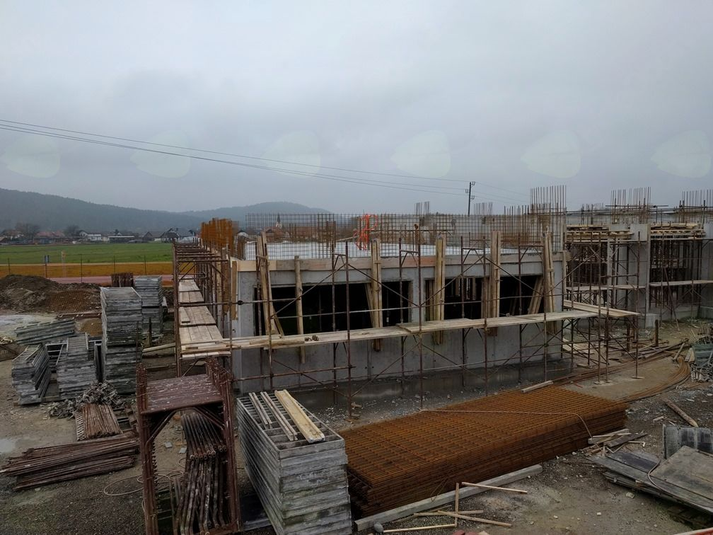 10. teden gradnje