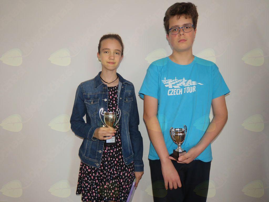 zmagovalci ciklusov: Vesna Mihelič, Denis Vah