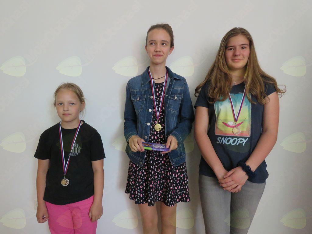 najbolša deklice: Inti Maček, Vesna Mihelič, Meta Kolšek