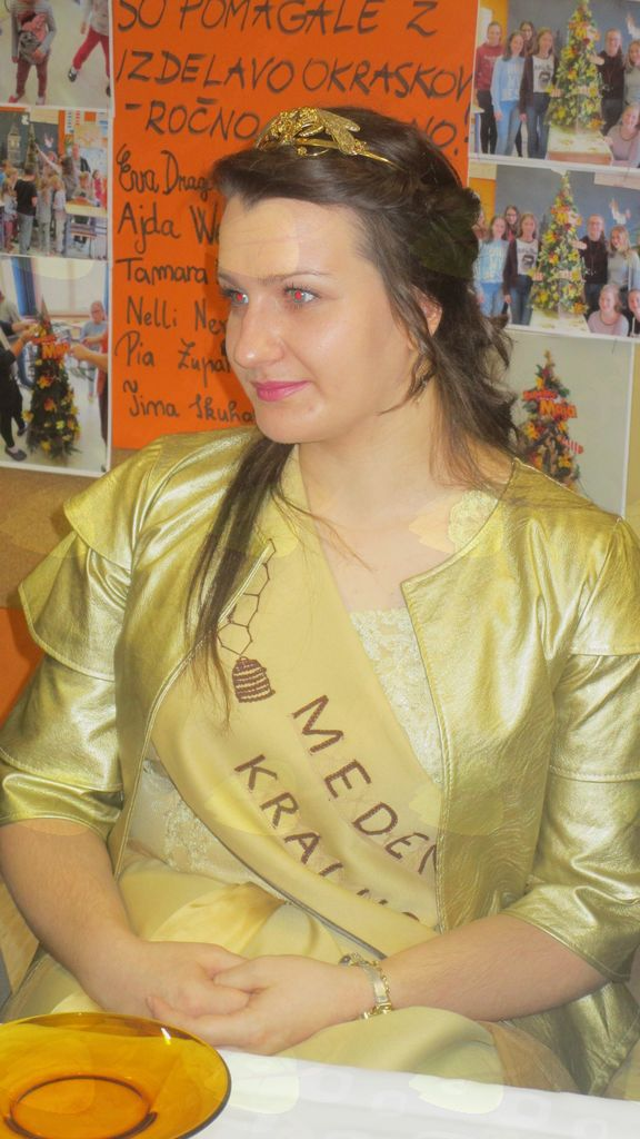 Mateja Šoštarič, medena kraljica