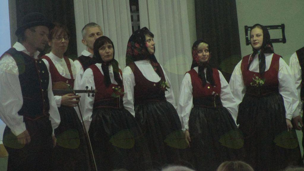 pevski nastop FS Kajer
