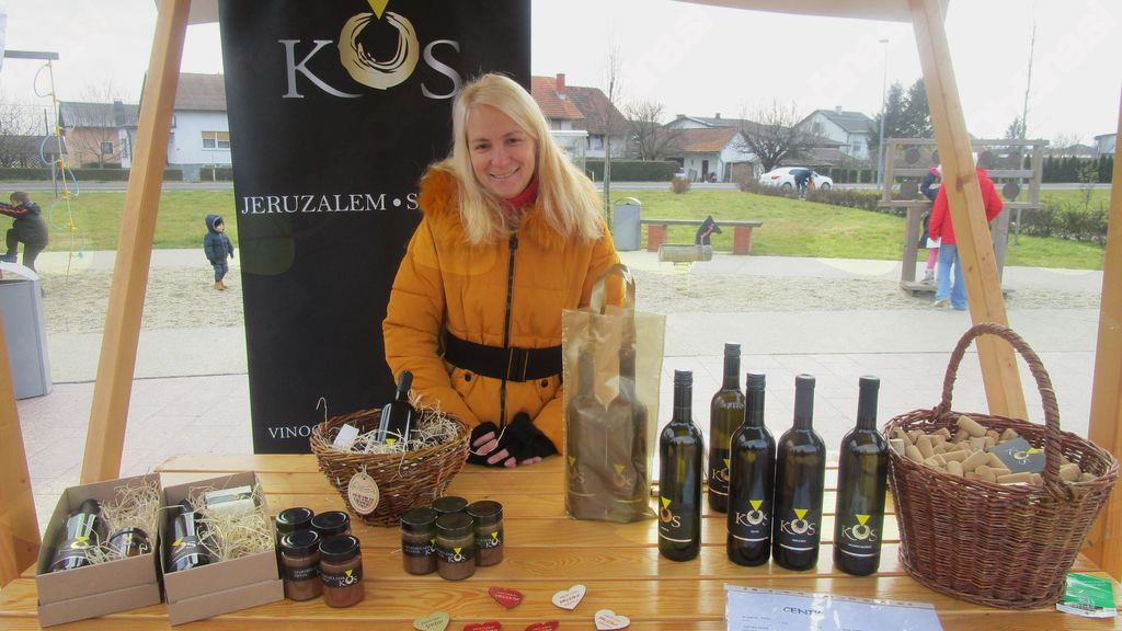 vina in ostali izdelki družine Kos