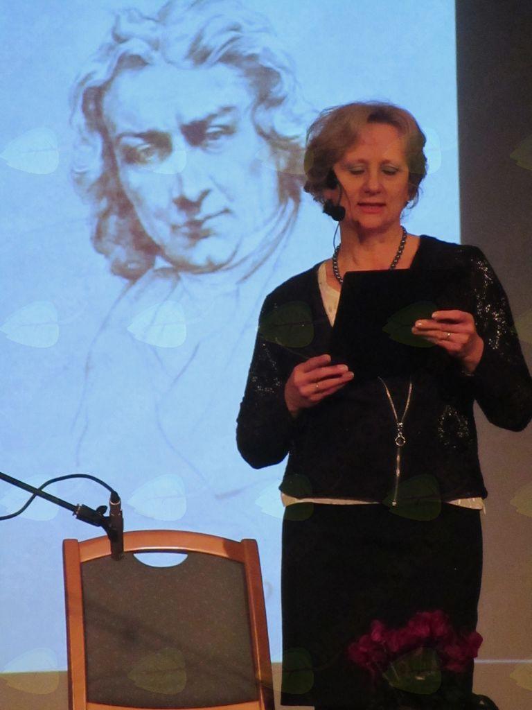 Siva Duh, predsednica Kulturnega društva Križevci pri Ljutomeru
