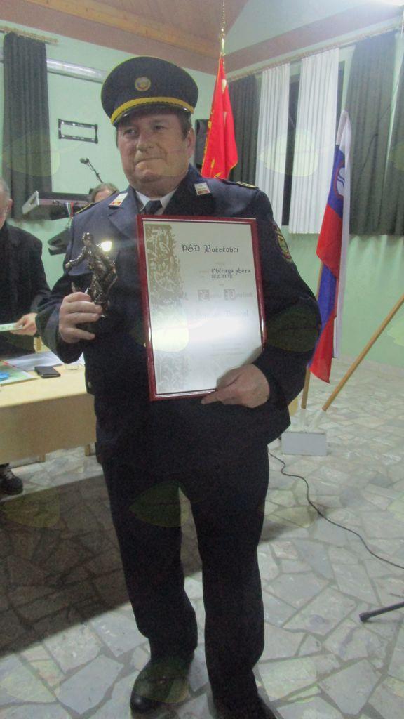 Danijel Šijanec, častni poveljnik PGD Bučečovci