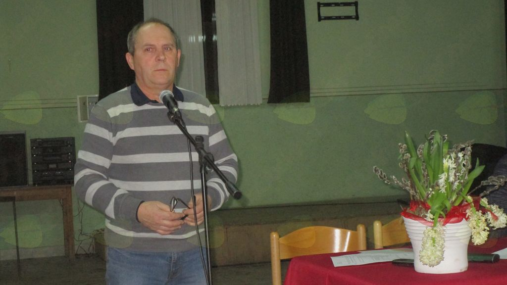 Zvonko Šijanec, predsednik Kajer Bučečovci