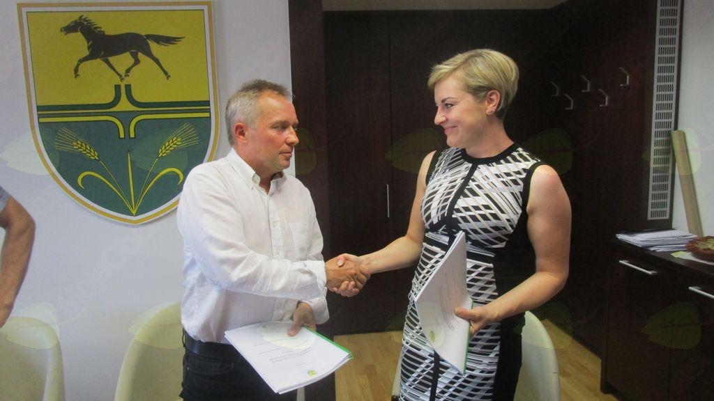 mag. Branko Belec, župan in Petra Weindorfer, direktorica GMW d.o.o.