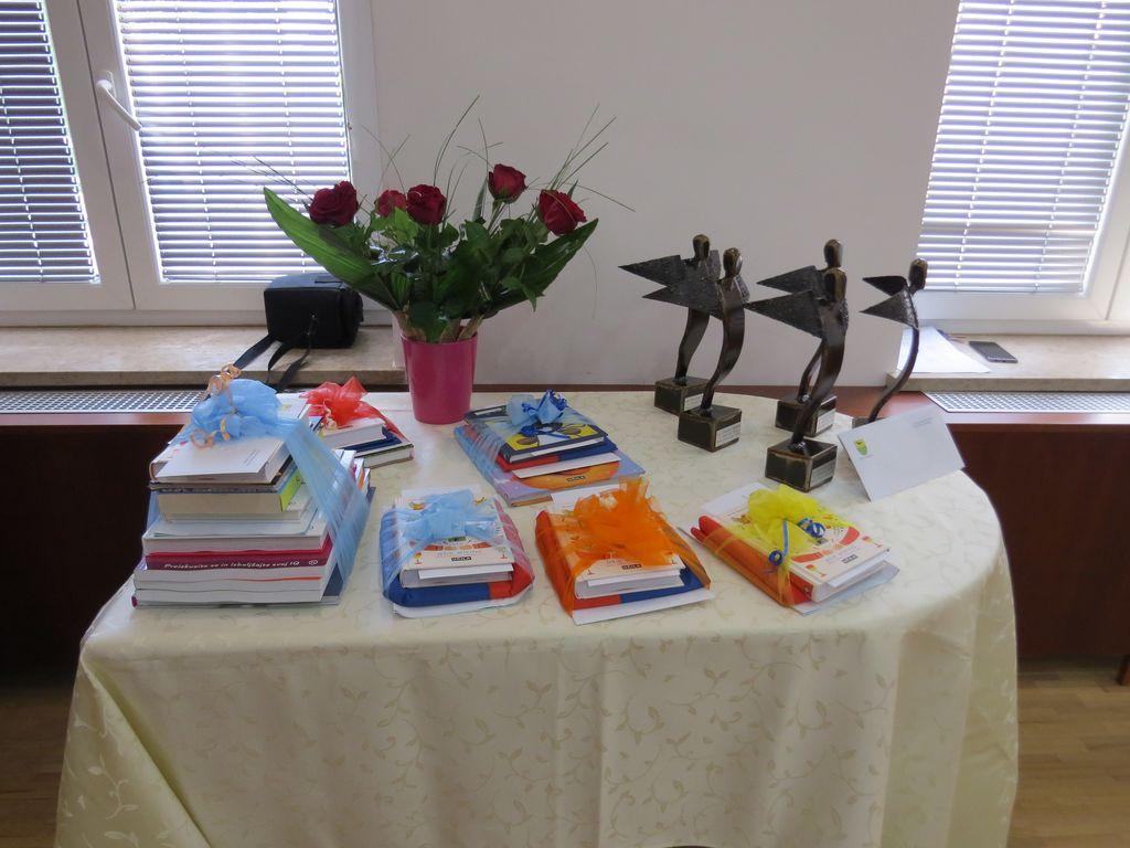 ŽUPAN OBČINE KRIŽEVCI JE SPREJEL ODLIČNJAKE IN UČENCE Z IZJEMNIMI DOSEŽKI