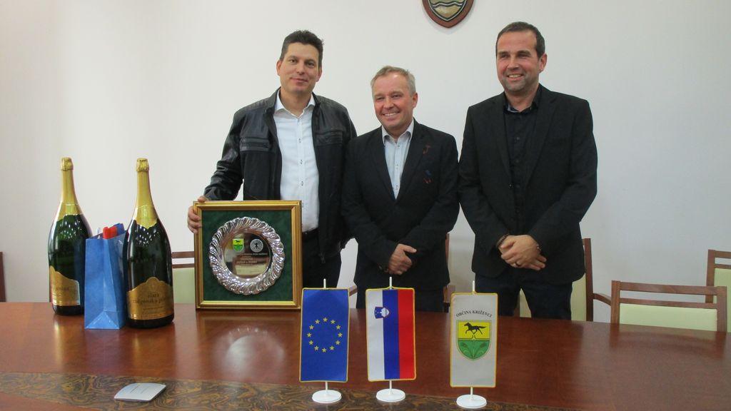 Župan Občine Križevci sprejel zmagovalca letošnjega kasaškega derbija in inovativnega mladega kmeta Slovenije 2019