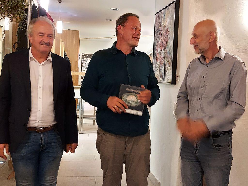 od leve prosti desni: Josef Doupona, Georg Pock in Goran Šoster