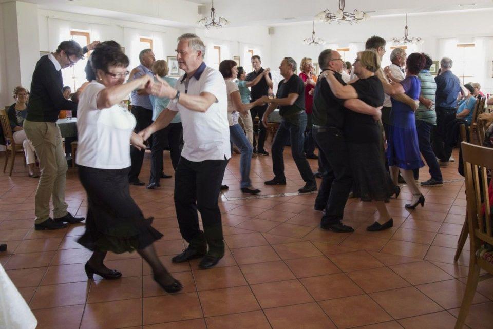 Plesni krožek v akciji.