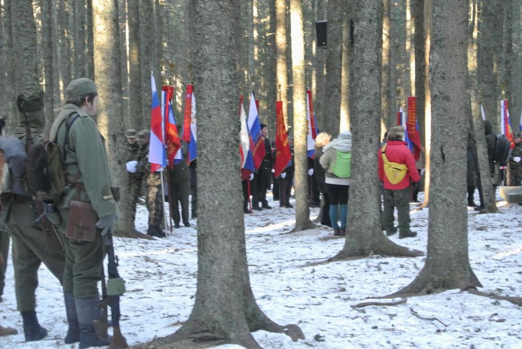 Spominska slovesnost ob 74. obletnici zadnjega boja pohorskega bataljona