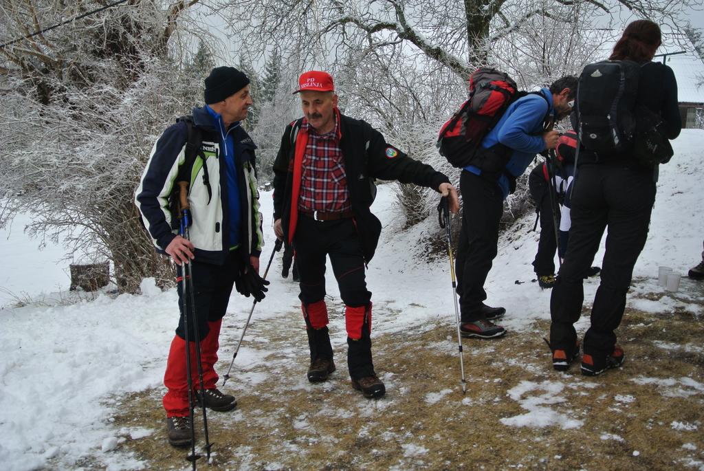 17. spominski pohod dr. Stanka Stoporka na Črni vrh