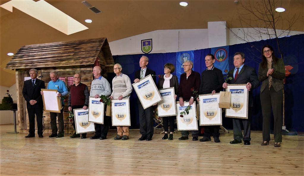Svečana podelitev najvišjih priznanj PZS za leto 2017