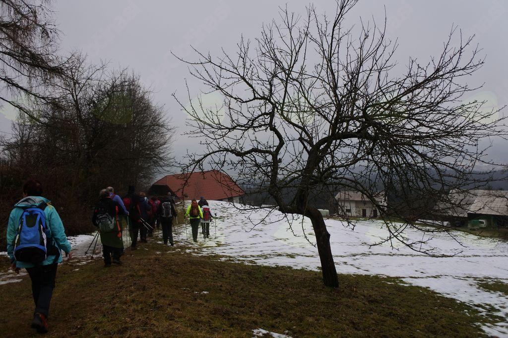 Izlet na Kremžarjev vrh (1162 m)