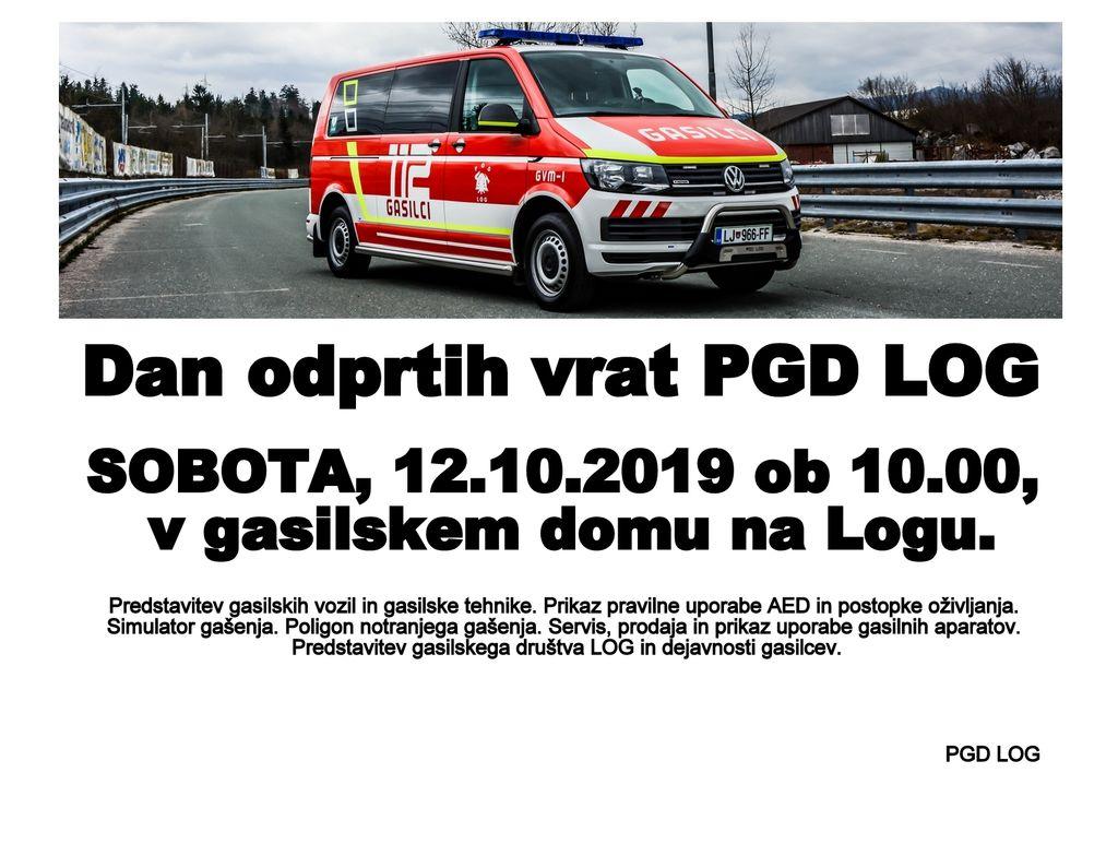 Dan odprtih vrat PGD Log