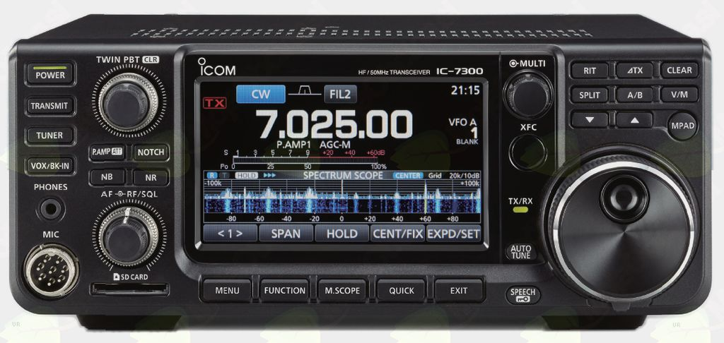 postaja ICOM IC 7300