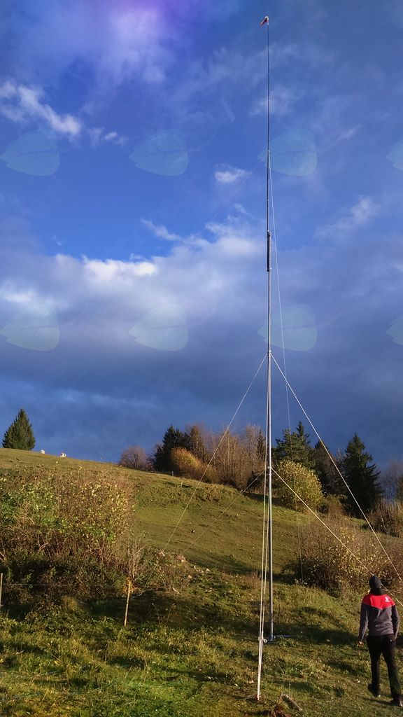 20 metrski stolp z anteno