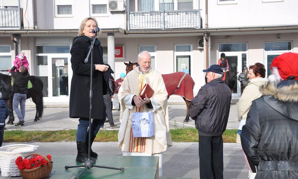 Blagoslov konj v Križevcih pri Ljutomeru