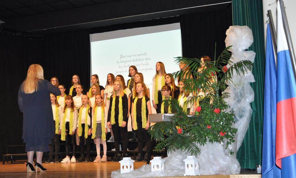 Proslava ob Slovenskem kulturnem prazniku v Križevcih