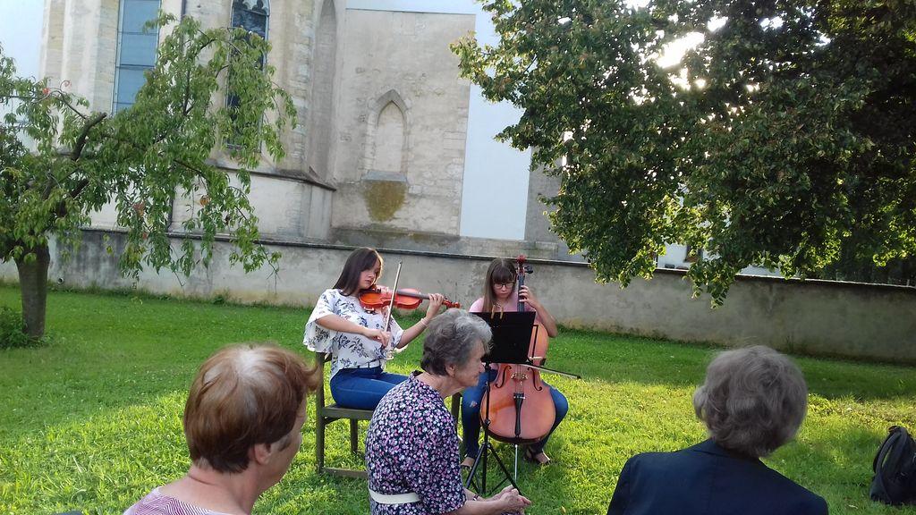Beletrinina trubadurka Ana Schnabl v Križevcih pri Ljutomeru