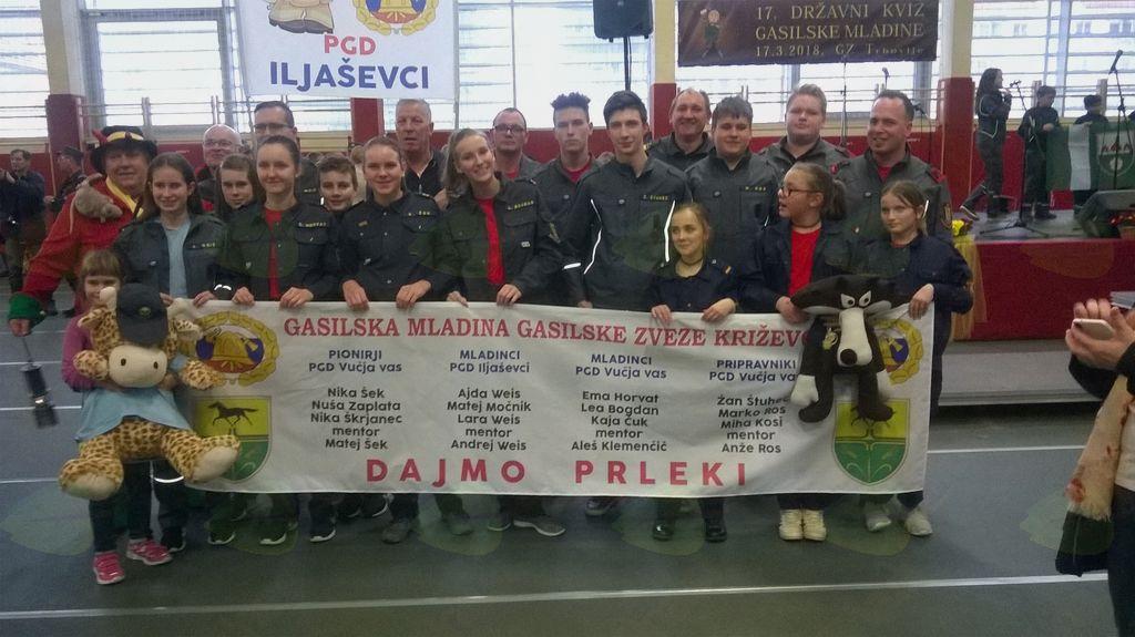 Tekmovalci GZ Križevci
