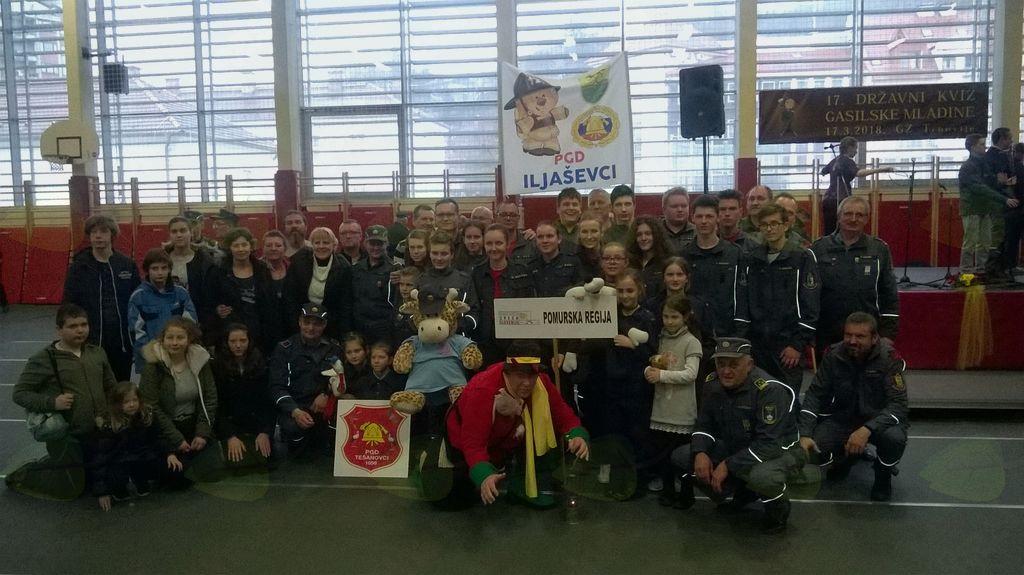 Tekmovalci Pomurske regije