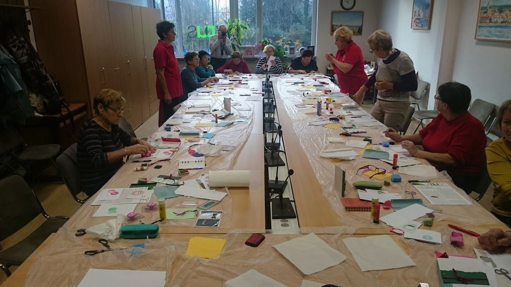 Izobraževanje Prostovoljcev Društva Upokojencev Notranje Gorice - Plešivica
