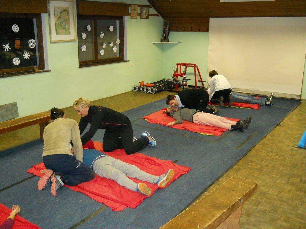 Vabljeni v Notranje Gorice na vaje iz prve pomoči
