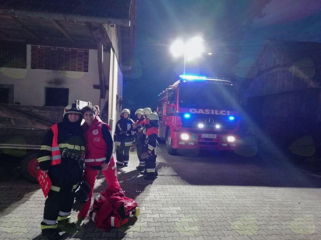 Nadaljujemo s sodelovanjem med gasilci in Rdečim križem