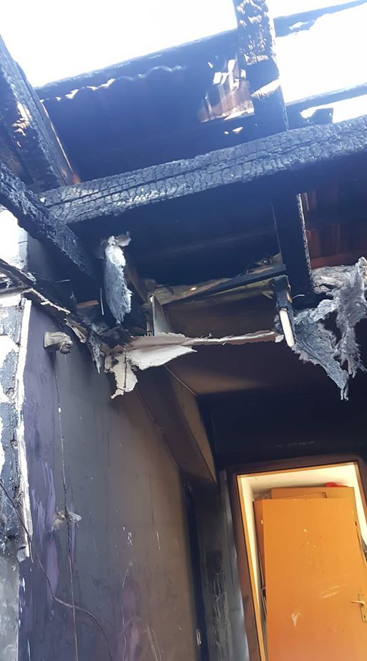 Požar v Vnanjih Goricah