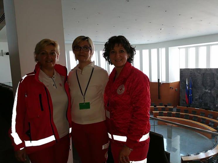 Ekipa prve pomoči v Državnem zboru