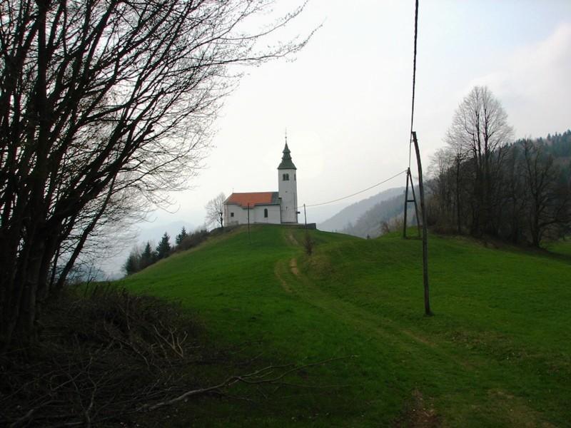 Planinski izlet na Križno goro in sv. Duh iz Podkraja