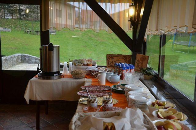 Po jutranji telovadbi nas čaka zajtrk