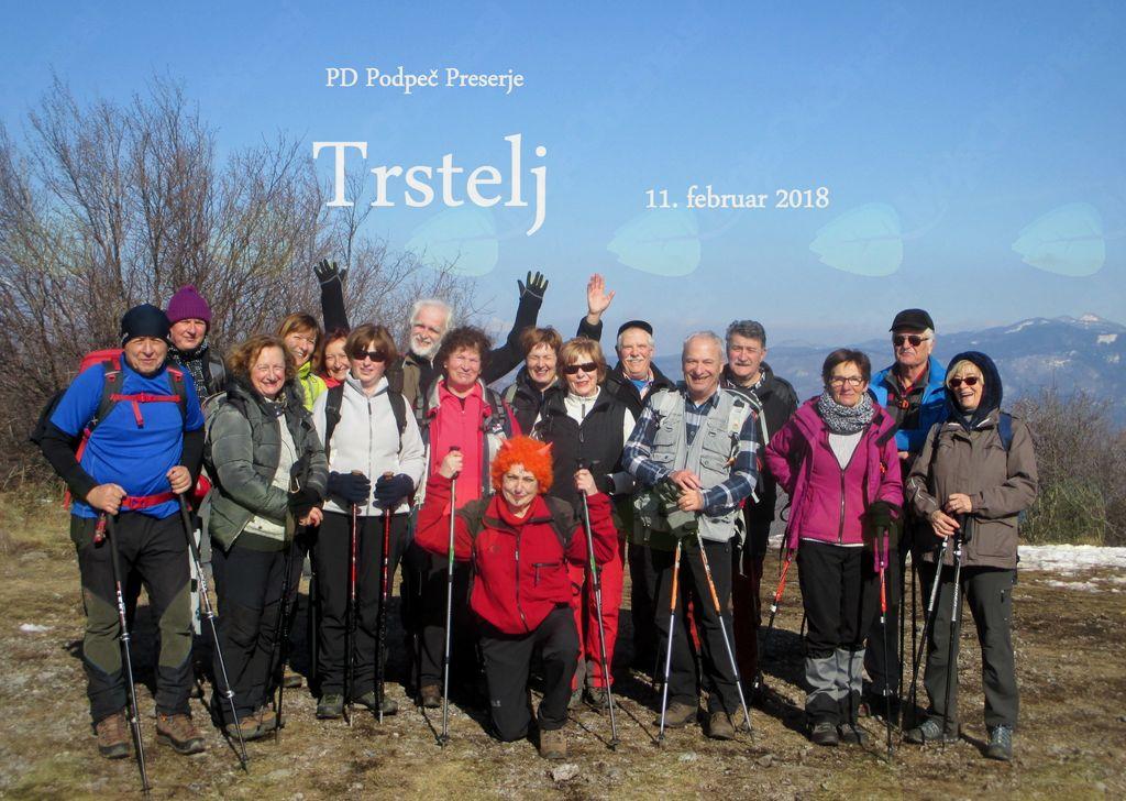 FOTOREPORTAŽA : PD Podpeč Preserje na Trstelju 11.2.2018