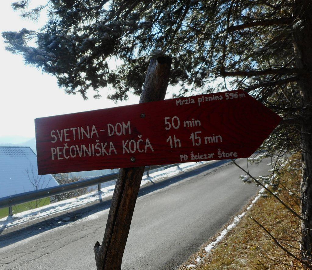 FOTOREPORTAŽA : PD od Resevne do Celjske koče  16. 12. 2018