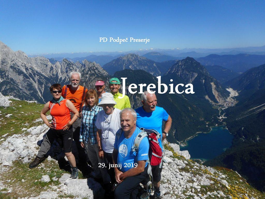 FOTOREPORTAŽA : PD na Jerebici  29.6.2019