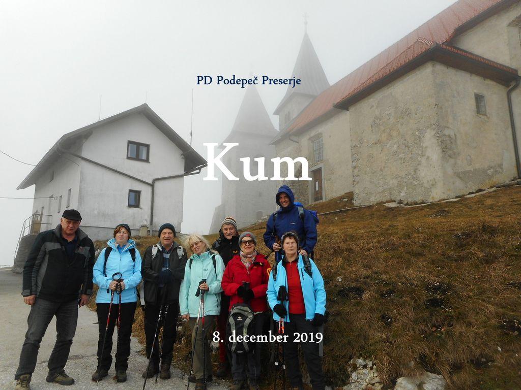 "FOTOREPORTAŽA : PD na ""Zasavskem Triglavu"" - Kumu 8.12.2019"