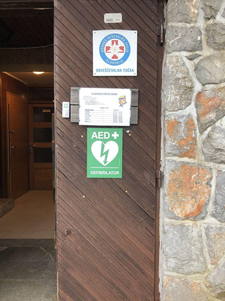 AED defibrilator na Krimu - PD Podpeč Preserje
