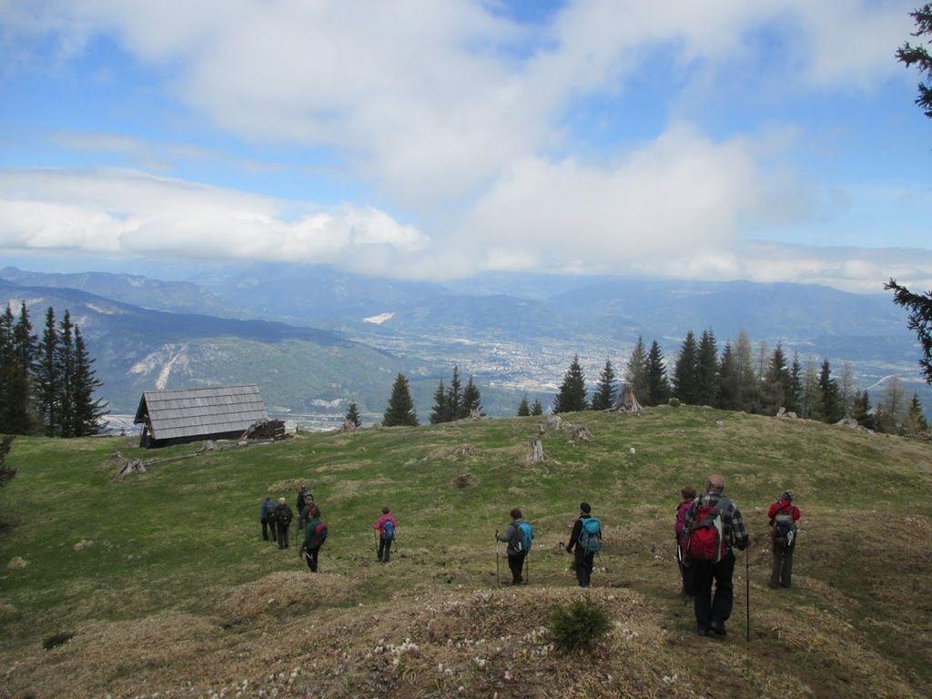 Planinski pohod na Vošco 7.7.2021 veterani